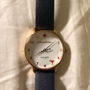 COPY - Kate Spade 5 o'clock somewhere watch, navy